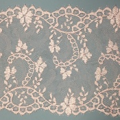 Dentelle de Calais arabesque rose - DEMYTILLE